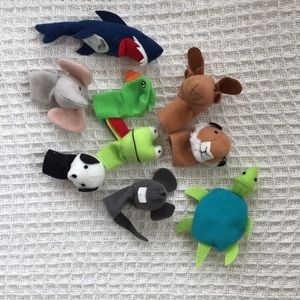 🦎🦑 FREE* animal finger puppets 🦒 🦓 🦔